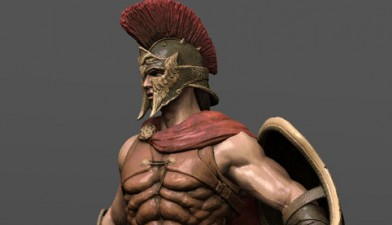 "Gameloft - ""Hero of Sparta"" - Main Character"
