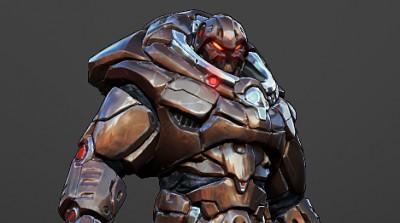 """Gameloft - """"NOVA 2"""" - Melee Jetpack Enemy Concept"""